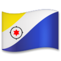 Flag: Caribbean Netherlands on LG G5