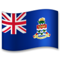 Flag: Cayman Islands on LG G5