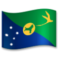 Flag: Christmas Island on LG G5