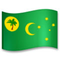Flag: Cocos (Keeling) Islands on LG G5