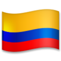 Flag: Colombia on LG G5