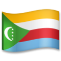 Flag: Comoros on LG G5