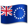 Flag: Cook Islands on LG G5