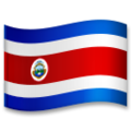 Flag: Costa Rica on LG G5