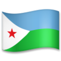 Flag: Djibouti on LG G5