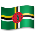 Flag: Dominica on LG G5