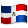 Flag: Dominican Republic on LG G5