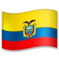 Flag: Ecuador on LG G5