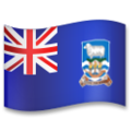 Flag: Falkland Islands on LG G5