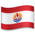 Flag: French Polynesia on LG G5