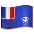 Flag: French Southern Territories on LG G5