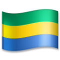 Flag: Gabon on LG G5