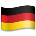 Flag: Germany on LG G5