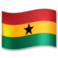 Flag: Ghana on LG G5