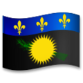 Flag: Guadeloupe on LG G5