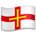 Flag: Guernsey on LG G5