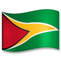 Flag: Guyana on LG G5
