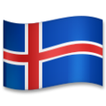 Flag: Iceland on LG G5