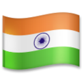 Flag: India on LG G5