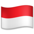 Flag: Indonesia on LG G5