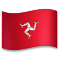 Flag: Isle of Man on LG G5