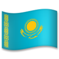 Flag: Kazakhstan on LG G5