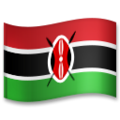 Flag: Kenya on LG G5