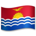 Flag: Kiribati on LG G5