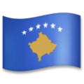Flag: Kosovo on LG G5