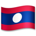 Flag: Laos on LG G5