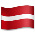 Flag: Latvia on LG G5