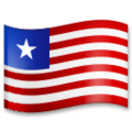Flag: Liberia on LG G5