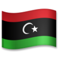 Flag: Libya on LG G5