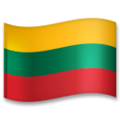 Flag: Lithuania on LG G5