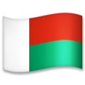 Flag: Madagascar on LG G5