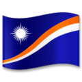 Flag: Marshall Islands on LG G5