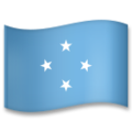 Flag: Micronesia on LG G5
