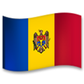 Flag: Moldova on LG G5
