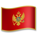 Flag: Montenegro on LG G5