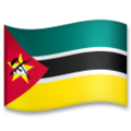 Flag: Mozambique on LG G5