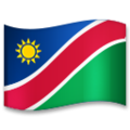 Flag: Namibia on LG G5
