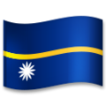 Flag: Nauru on LG G5