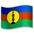 Flag: New Caledonia on LG G5