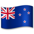 Flag: New Zealand on LG G5