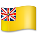 Flag: Niue on LG G5