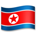Flag: North Korea on LG G5