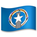 Flag: Northern Mariana Islands on LG G5