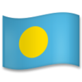 Flag: Palau on LG G5