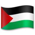 Flag: Palestinian Territories on LG G5