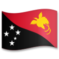 Flag: Papua New Guinea on LG G5